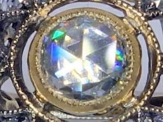 約1ctローズカットダイヤ使用(鑑定書付)【商品番号4649】c