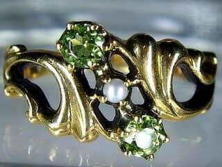 アンティーク指輪の商品番号480cf
