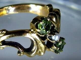 アンティーク指輪の商品番号480cg