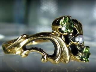 アンティーク指輪の商品番号480ch
