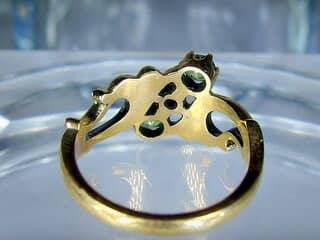 アンティーク指輪の商品番号480cj