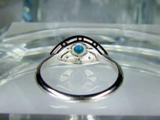 ダイヤとトルコ石を使用した【商品番号506c】j