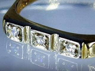 3石のダイヤ【商品番号510c】g