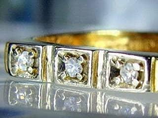 3石のダイヤ【商品番号510c】h