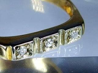 3石のダイヤ【商品番号510c】i