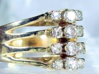 12石ダイヤ,14k【商品番号884b】g