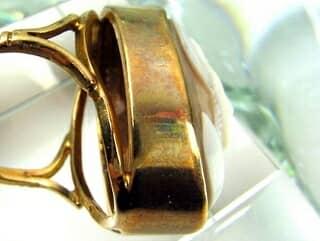 1897年英製シェルカメオ【商品番号890c】e