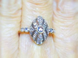 約0.58ct2種のオールドカットダイヤ【商品番号r121】b