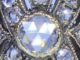 約0.58ct2種のオールドカットダイヤ【商品番号r121】c