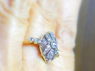 約0.58ct2種のオールドカットダイヤ【商品番号r121】e