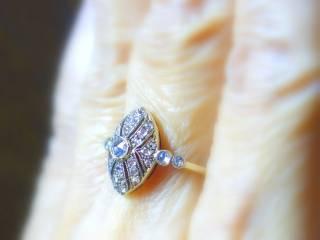 約0.58ct2種のオールドカットダイヤ【商品番号r121】h