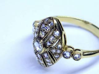 約0.58ct2種のオールドカットダイヤ【商品番号r121】i