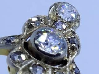 アンティークジュエリー指輪の商品番号r138k