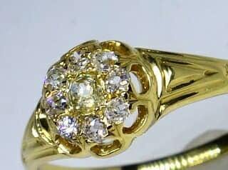 約0.5ctオールドカットダイヤ【商品番号r169】d
