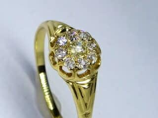 約0.5ctオールドカットダイヤ【商品番号r169】g