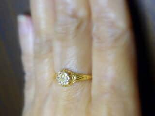 約0.5ctオールドカットダイヤ【商品番号r169】h