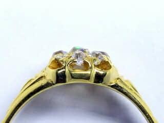 約0.5ctオールドカットダイヤ【商品番号r169】i