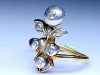 アンティークジュエリー指輪の商品番号r201g