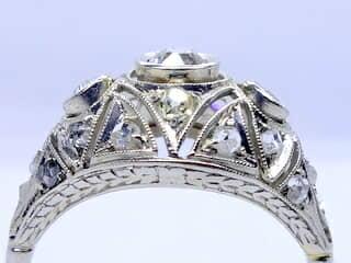 約1ct2種のオールドカットダイヤ(鑑定書付)【商品番号r204】f