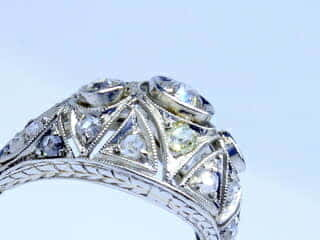 約1ct2種のオールドカットダイヤ(鑑定書付)【商品番号r204】i
