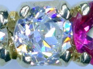約0.7ctオールドダイヤと約0.5ctルビー【商品番号r269】c