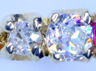 約0.7ctオールドダイヤと約0.5ctルビー【商品番号r269】i