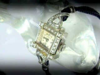 30石のダイヤをあしらったロンジン(LONGINES)社【商品番号1181A】f