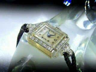 24石のダイヤハミルトン(HAMILTON)社【商品番号1183A】c