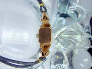 ダイヤとルビーをあしらったBULOVA (ブローバ)社製(鑑定書付)【商品番号1927】g