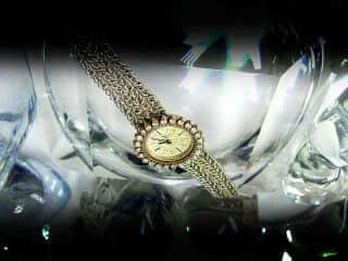 ボーム&メルシエ (BAUME&MERCIER) ダイヤ使用(鑑定書付)【商品番号4602】f