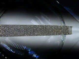 オメガ社の42石のダイヤモンド使用【商品番号4606】e