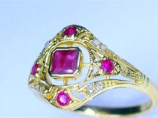 アンティークジュエリー指輪の商品番号r343d