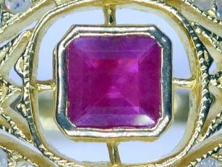 アンティークジュエリー指輪の商品番号r343f