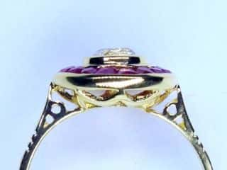 アンティークジュエリー指輪の商品番号r347i